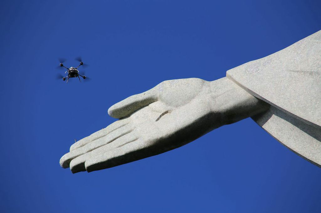 How a drone created the first high res 3D model of Christ the Redeemer in Rio