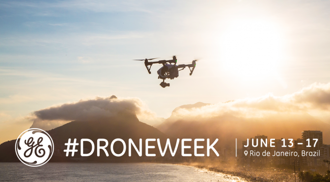General Electric capitalizes on drone hype with Drone Week in Rio