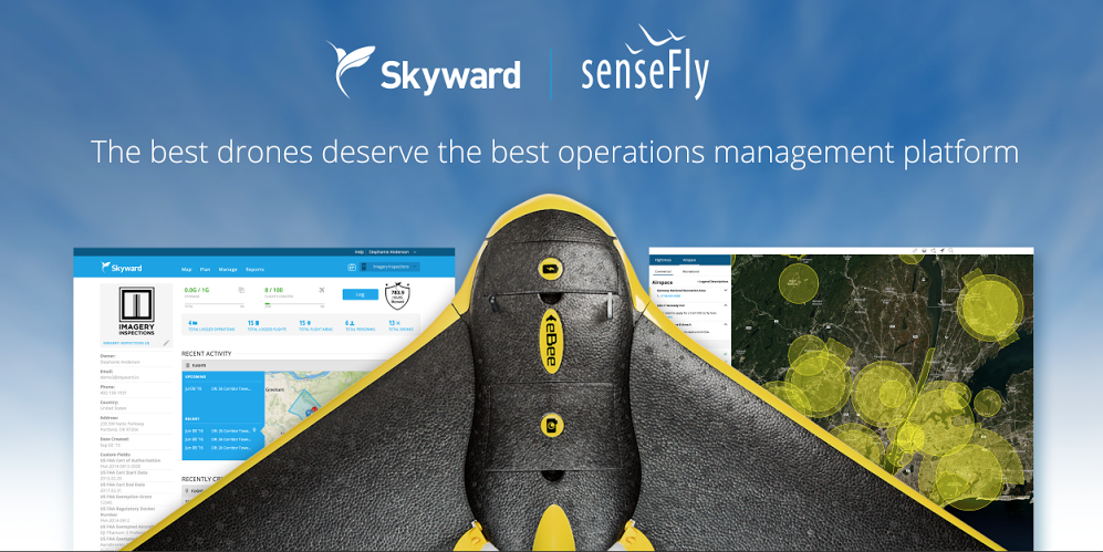 Parrot's senseFly and Skyward are joining forces