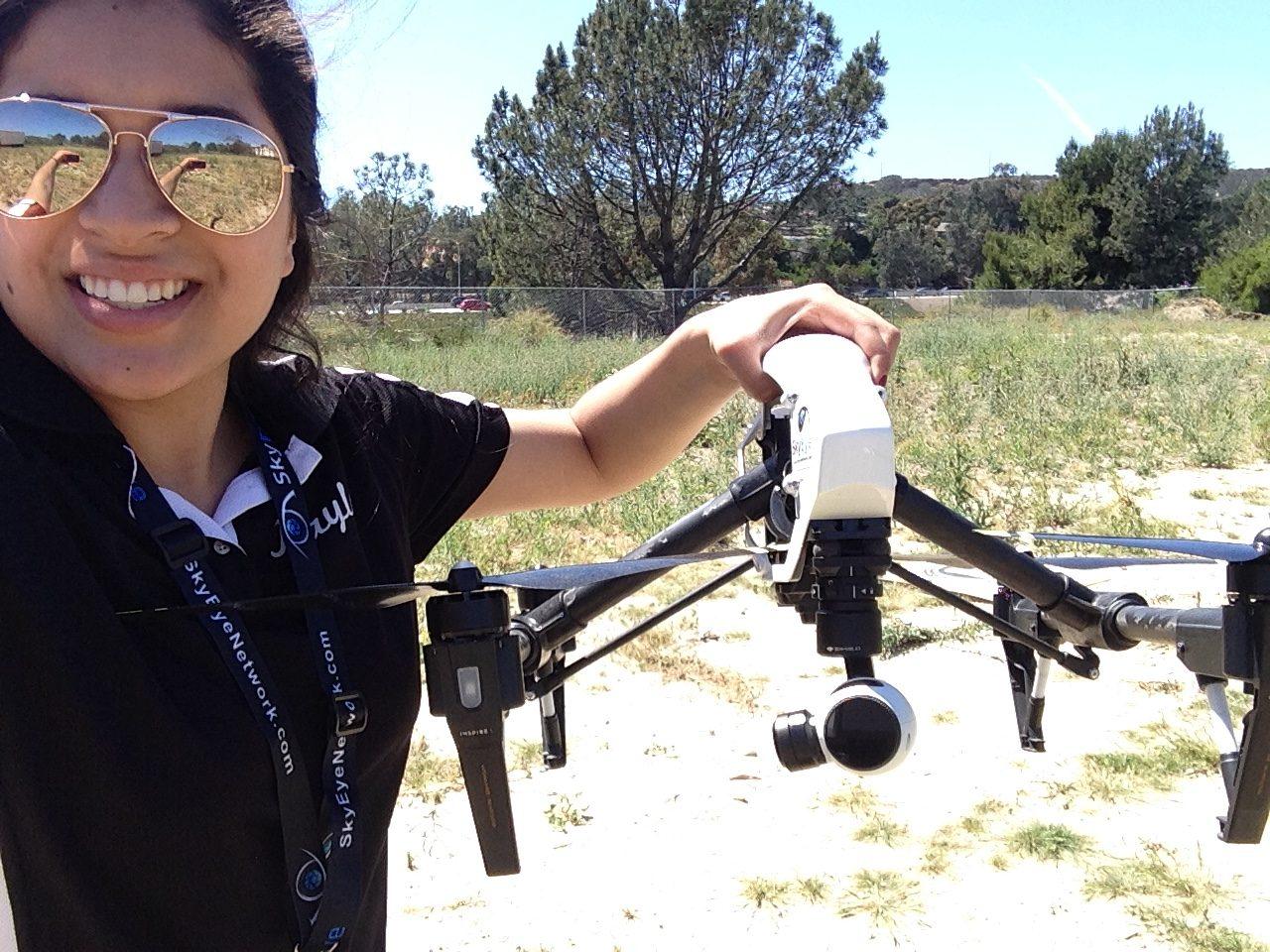 Meet rising drone star Miranda Chavoya