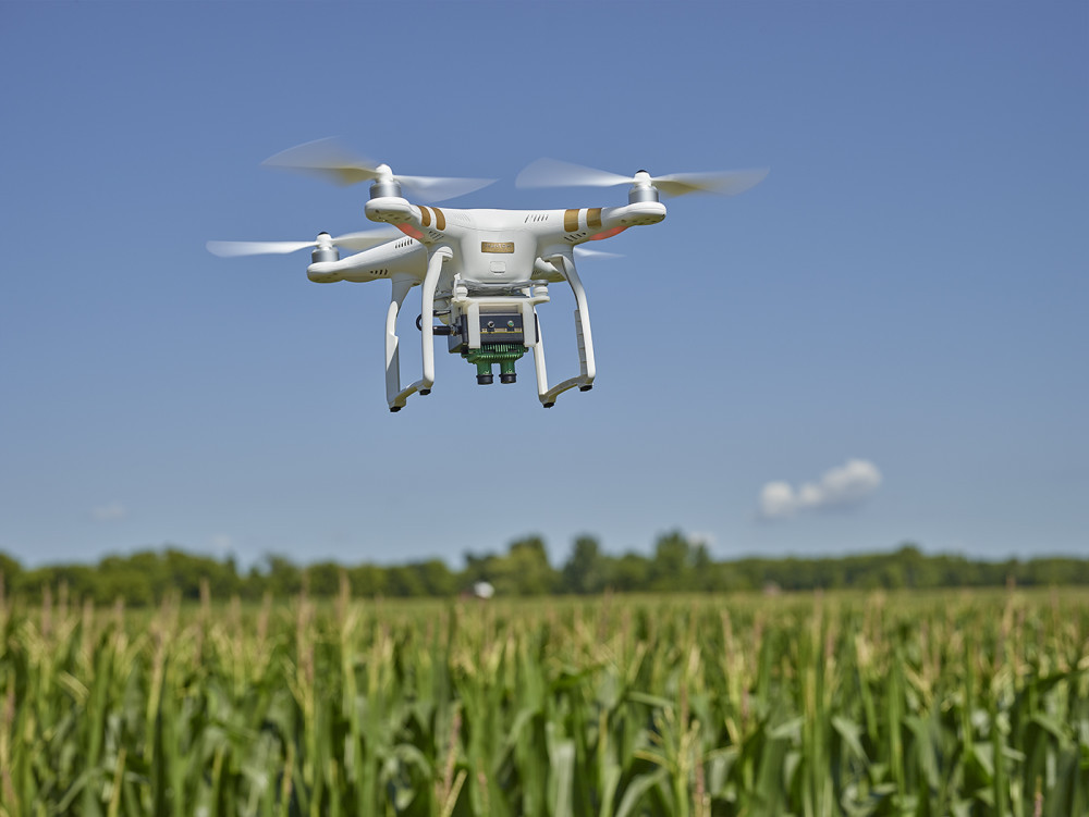 This sensor turns a basic DJI drone into a precision agriculture platform