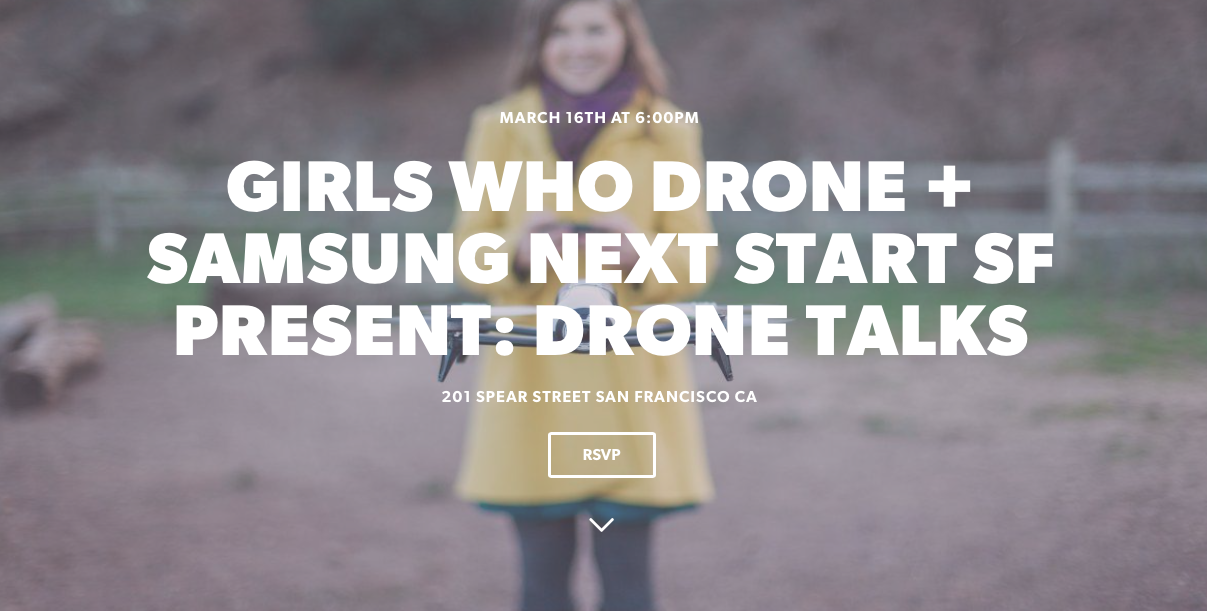 The Drone Girl meet up is THIS WEEK!!