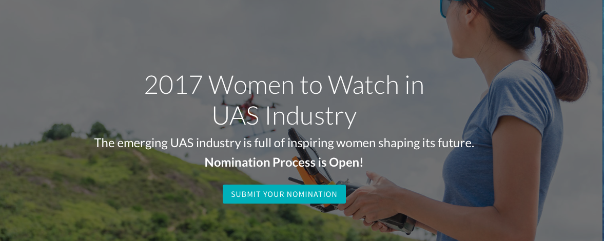 "Nominate a ""Women to Watch"" award winner, announced at the Drone360 ASCEND conference"