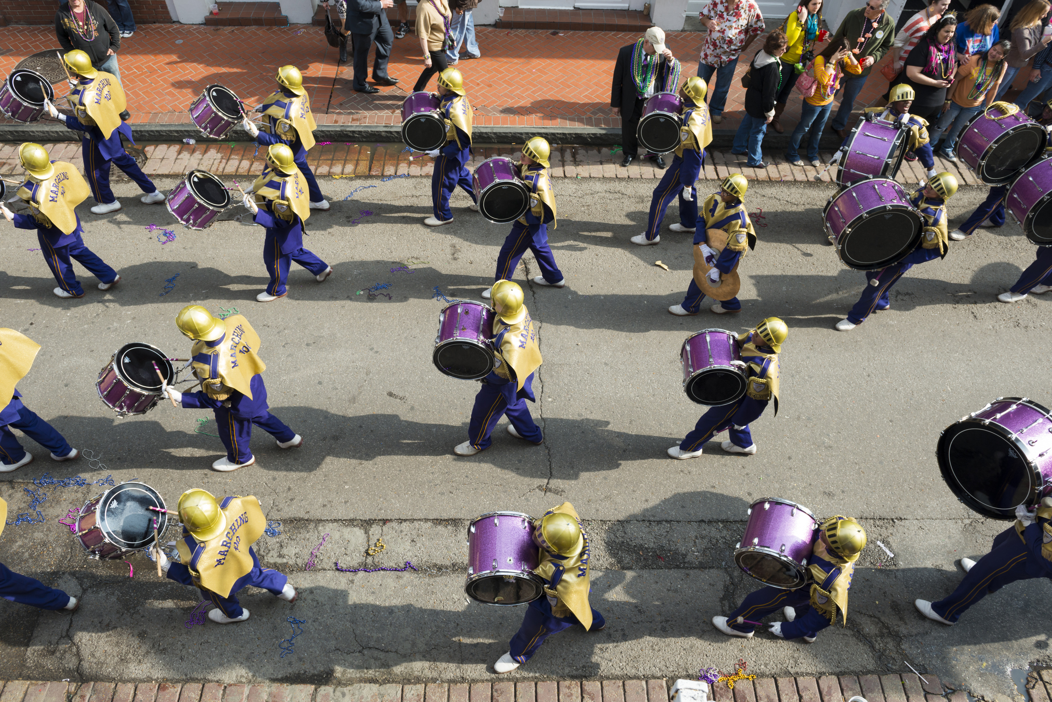 What is the best drone to film my marching band?