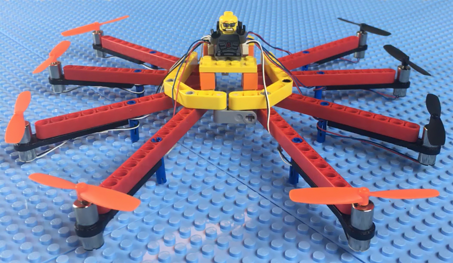 Flybrix teaches kids how to build and fly drones with Legos