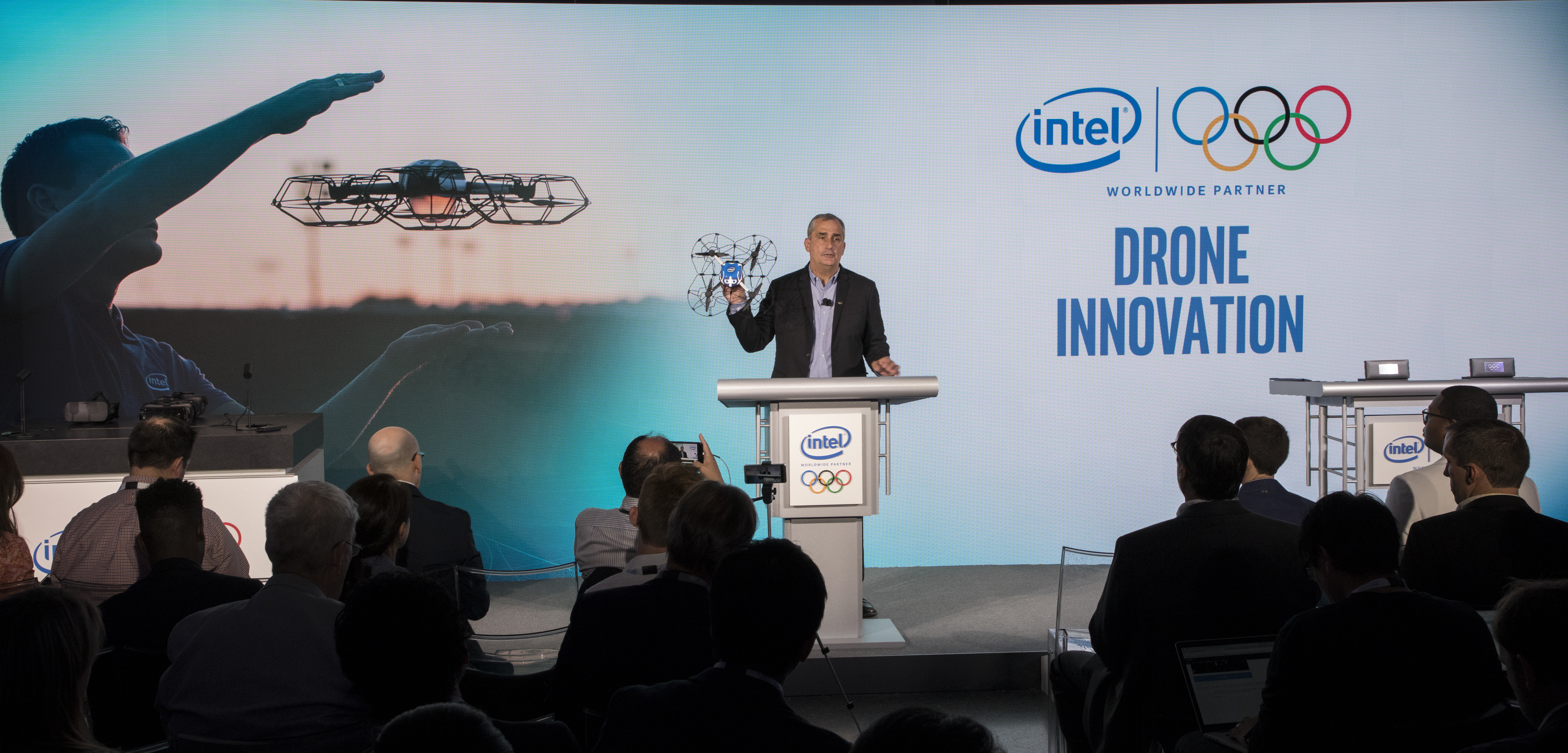 Intel drones are coming to the next Olympics