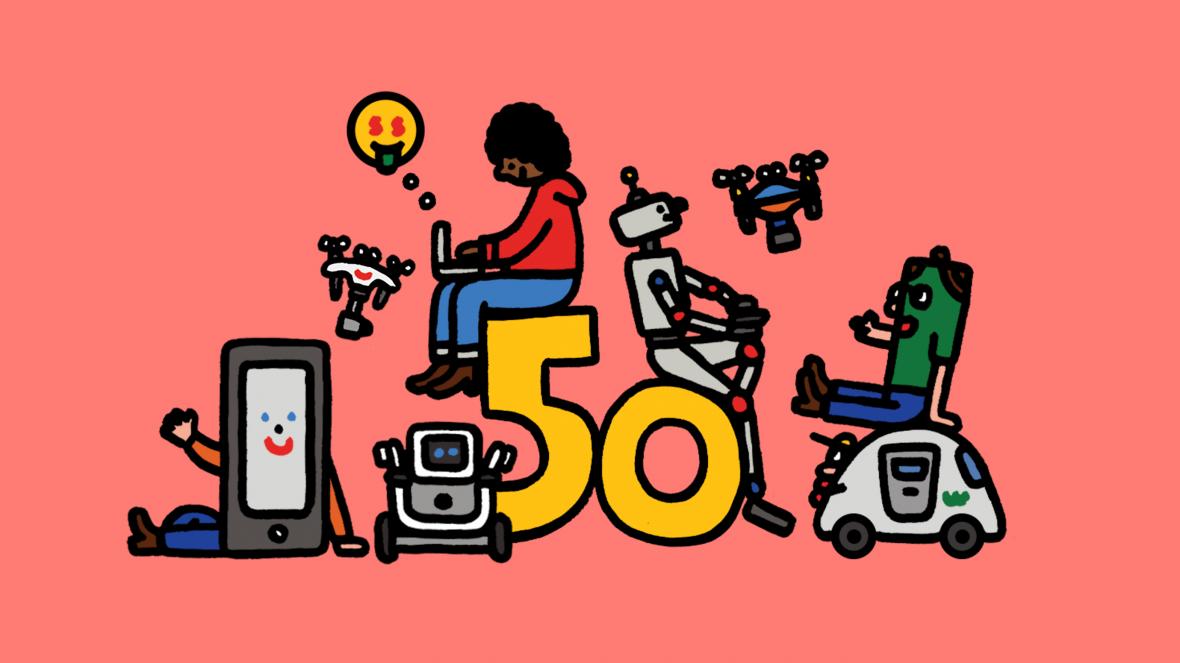 MIT Tech Review 50 smartest companies drones