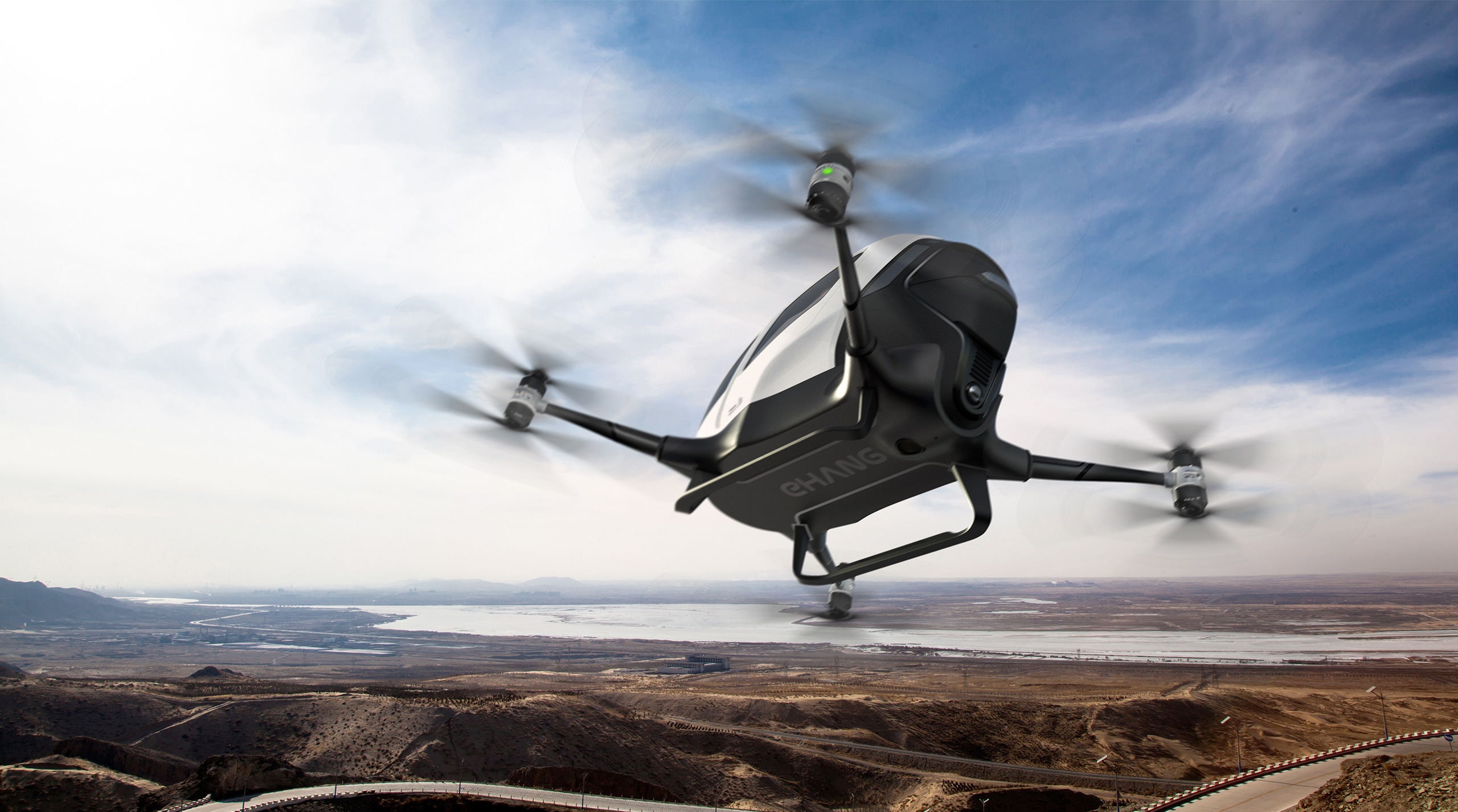 Only 1 in 20 Americans say they would feel safe riding a passenger drone