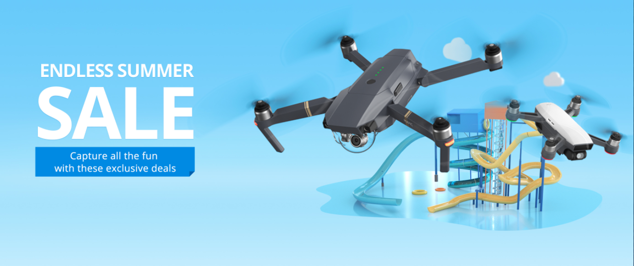 dji summer sale spark mavic discount deal