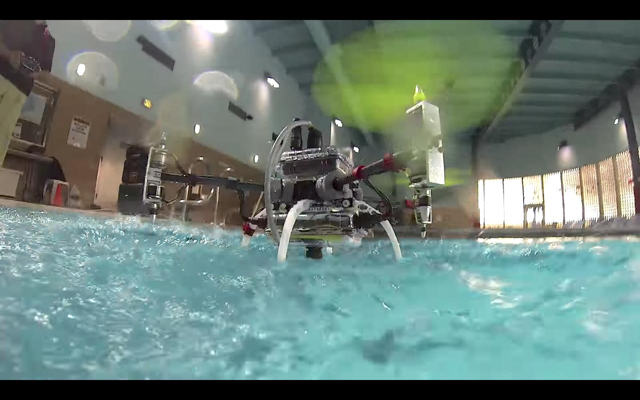naviator rutgers underwater drone
