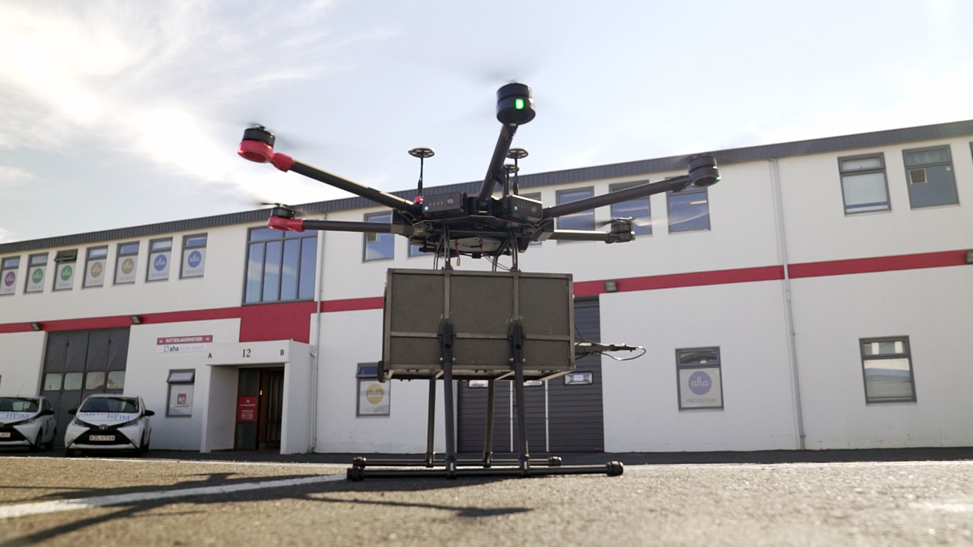 Iceland now has a drone delivery service to deliver food via Flytrex