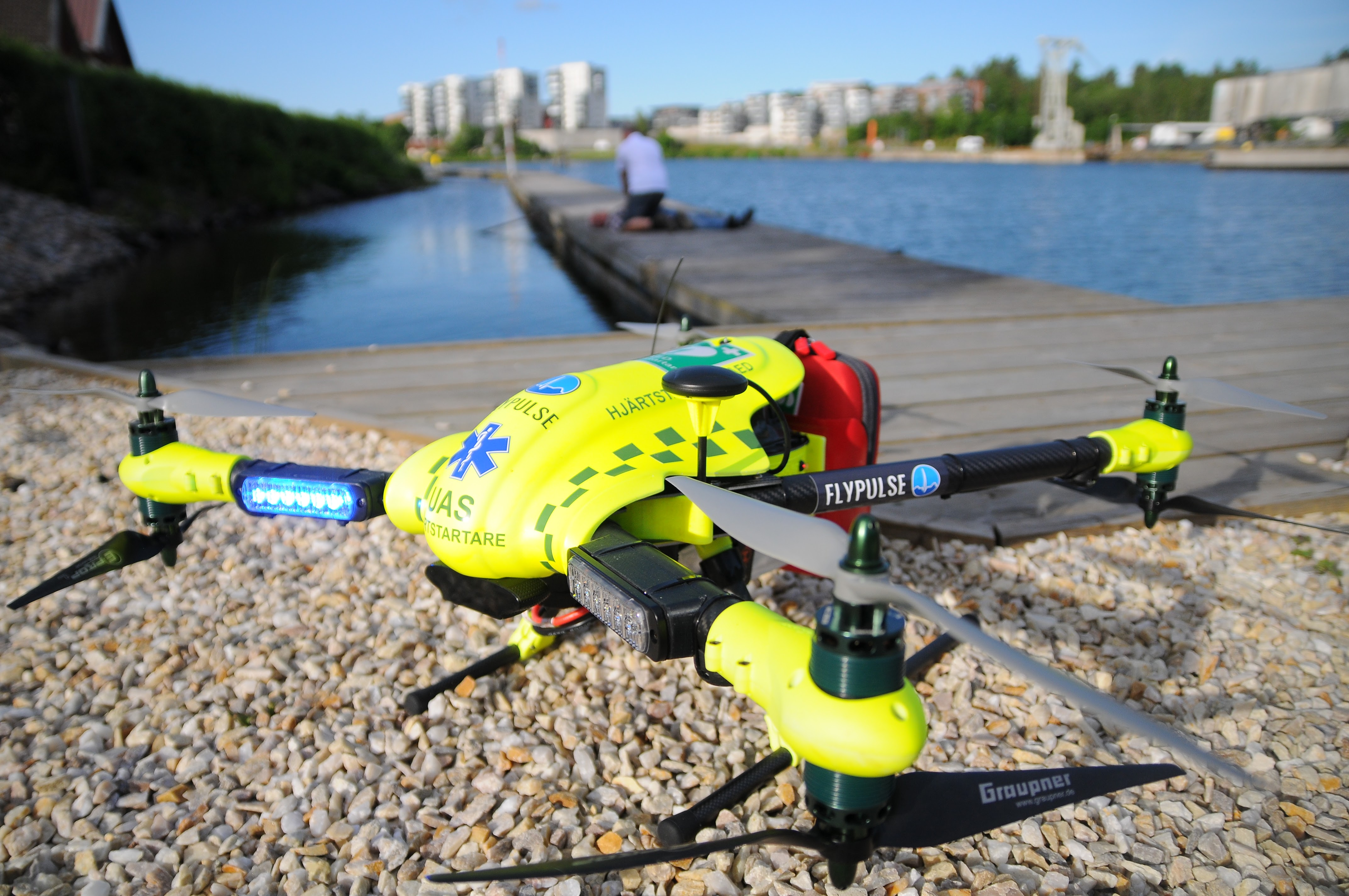 LifeDrone AED flypulse
