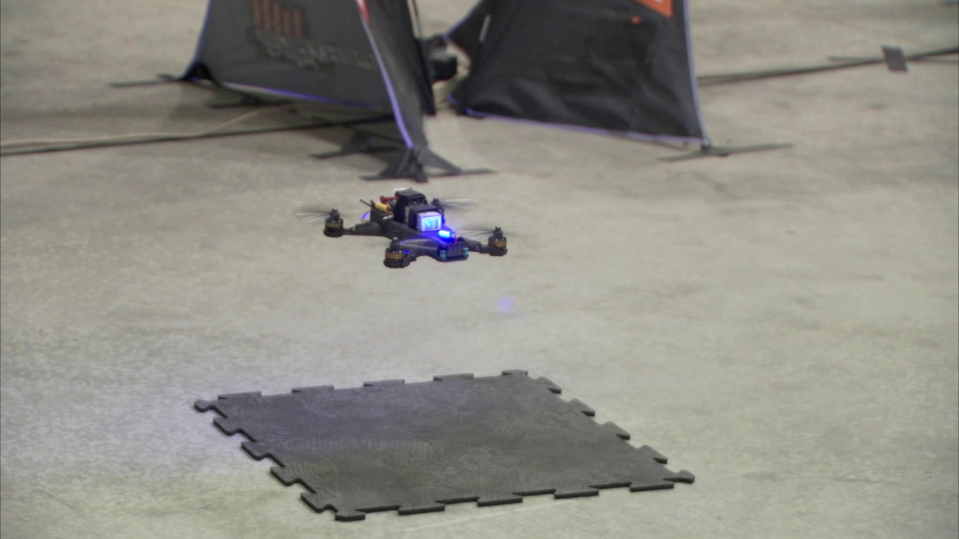 What's faster: a Google-funded drone or a human pilot? NASA put it to the test.