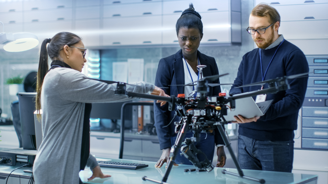 Have an awesome drone startup idea? Women Who Tech wants to give you $50,000 to get started