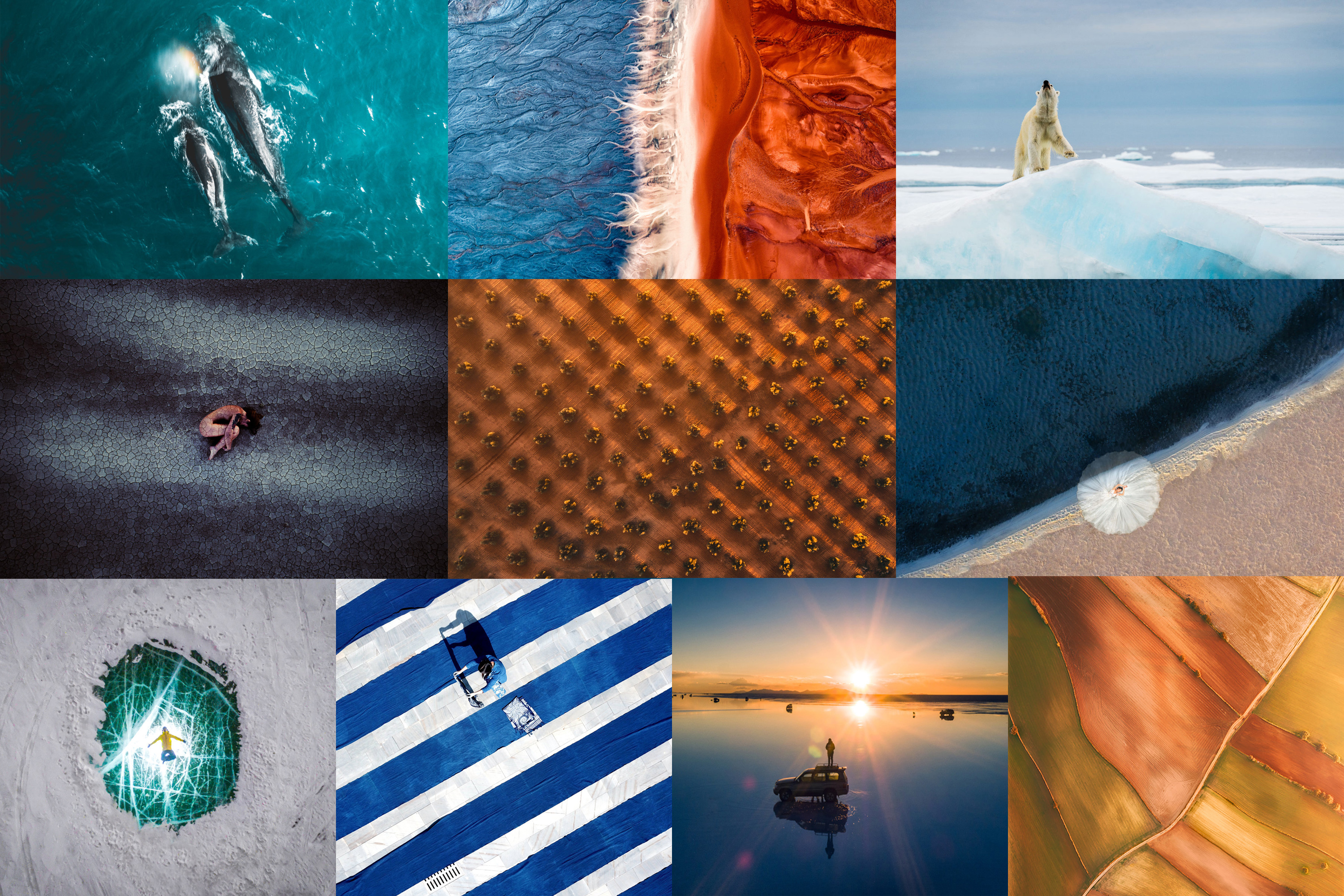 These 10 drone photos are the frontrunners to win DJI's SkyPixel contest