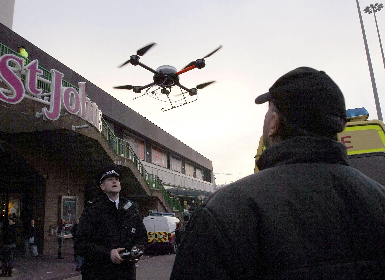 uk drone service providers caa liverpool