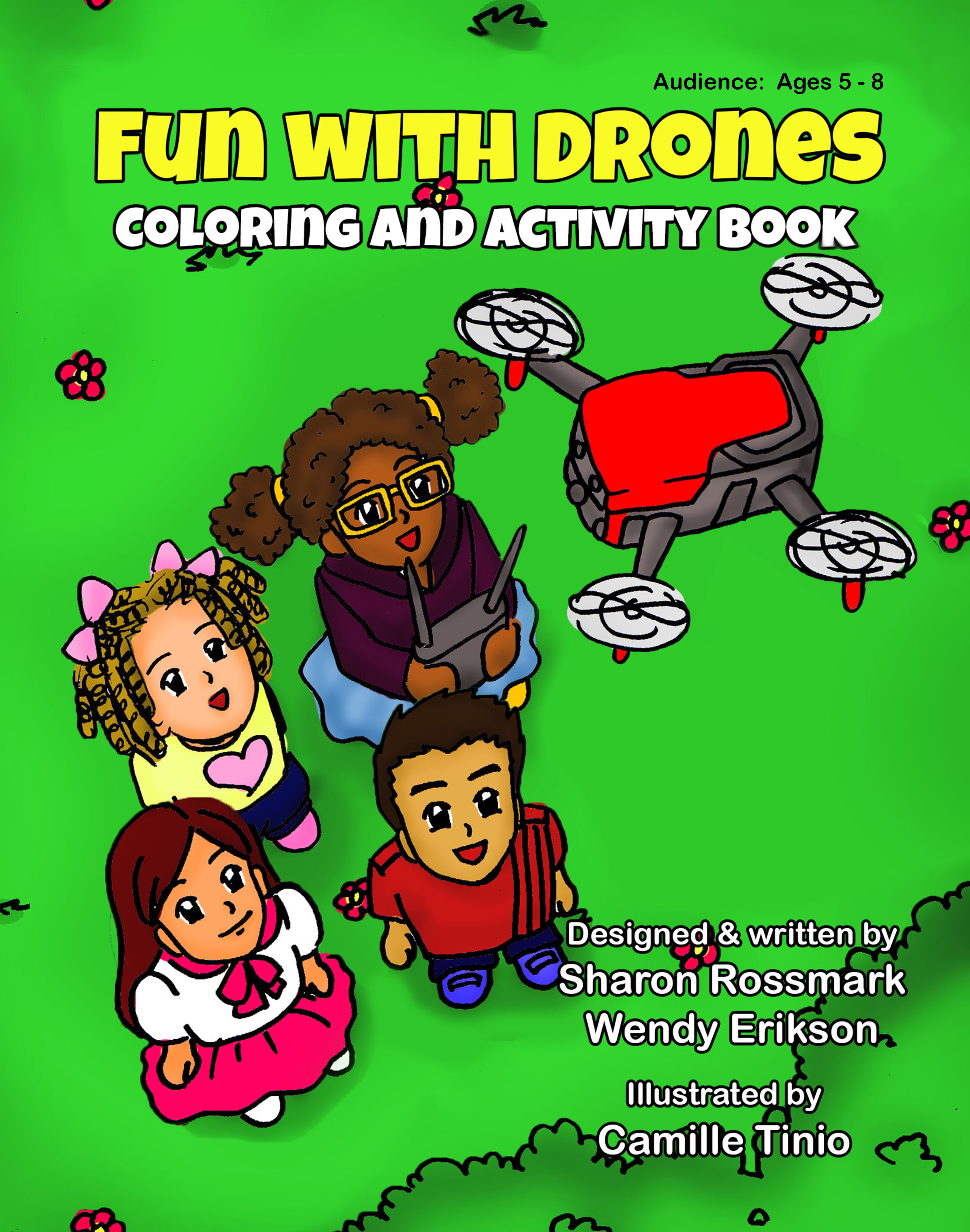 drone books coloring sharon rossmark amazon stem coloring