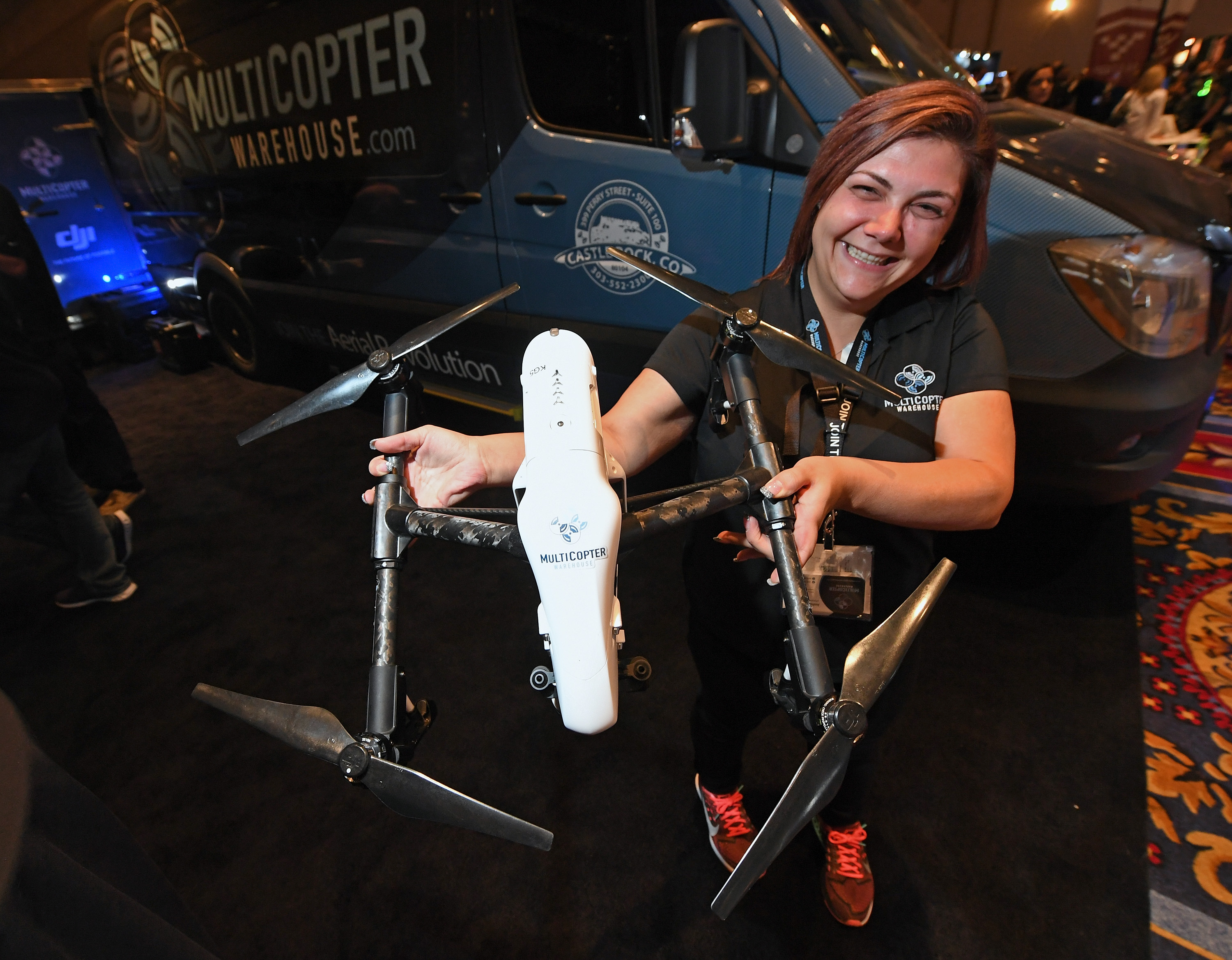 Women in Drones lunch is back again for Interdrone 2018