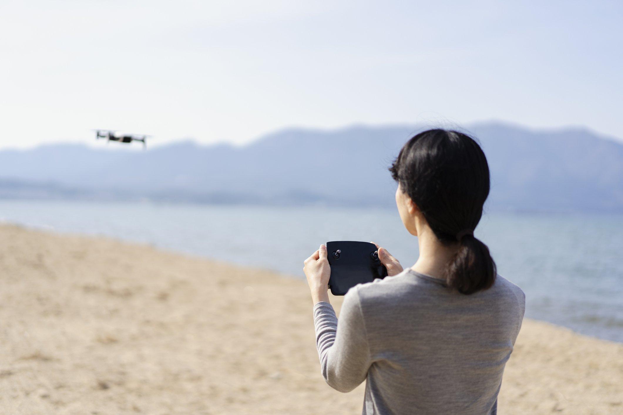 milestone drone industry woman female pilot FAA