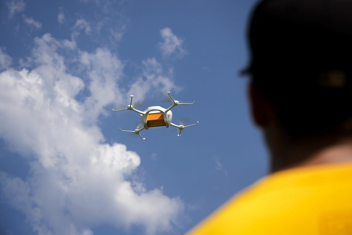 Drone delivery is here today: here's how it works
