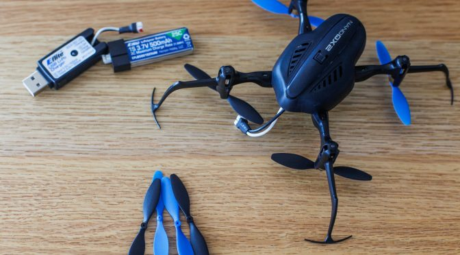 Why your Blade Nano QX won't lift off the ground