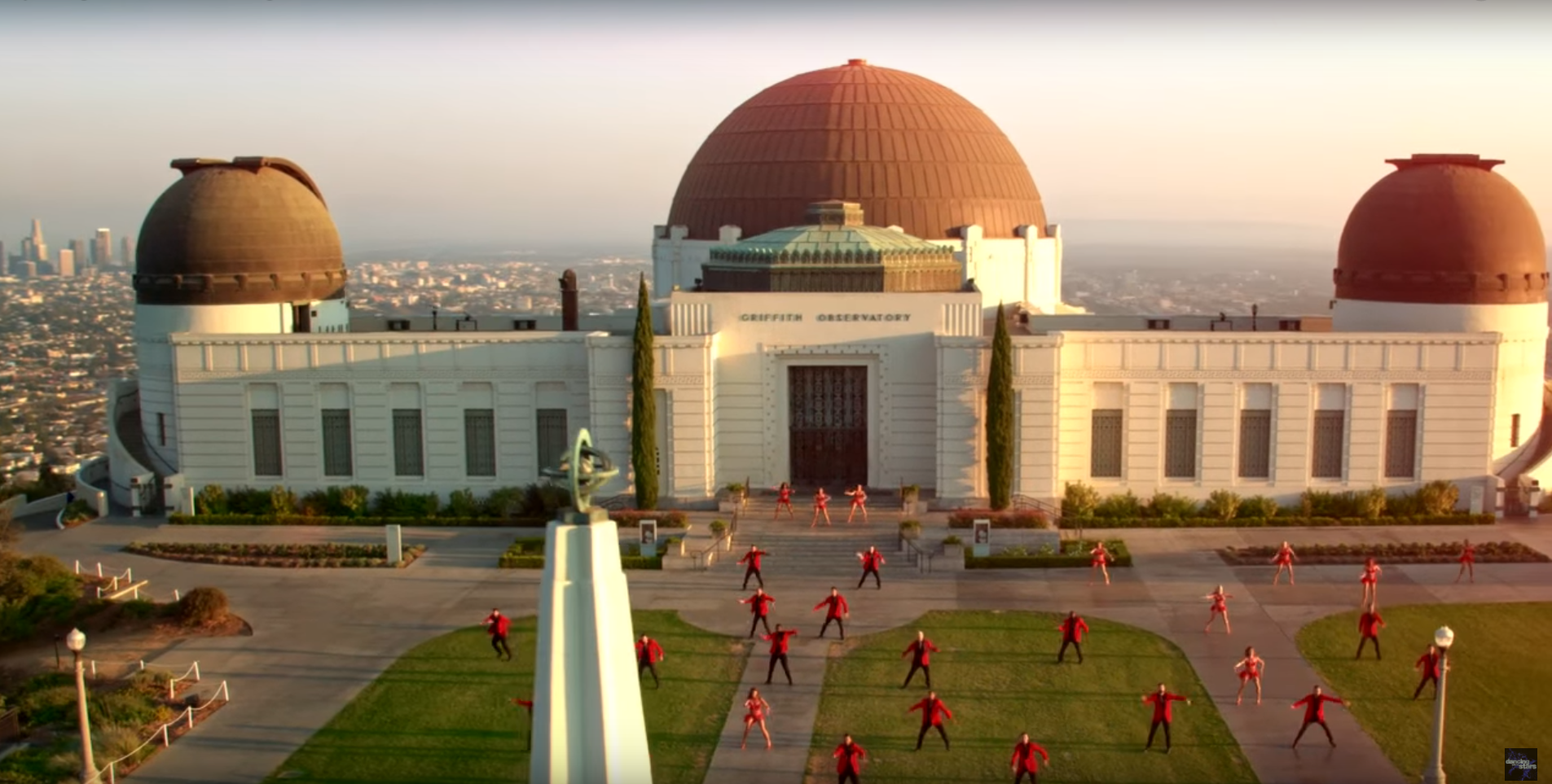 This Dancing with the Stars drone footage is seriously epic