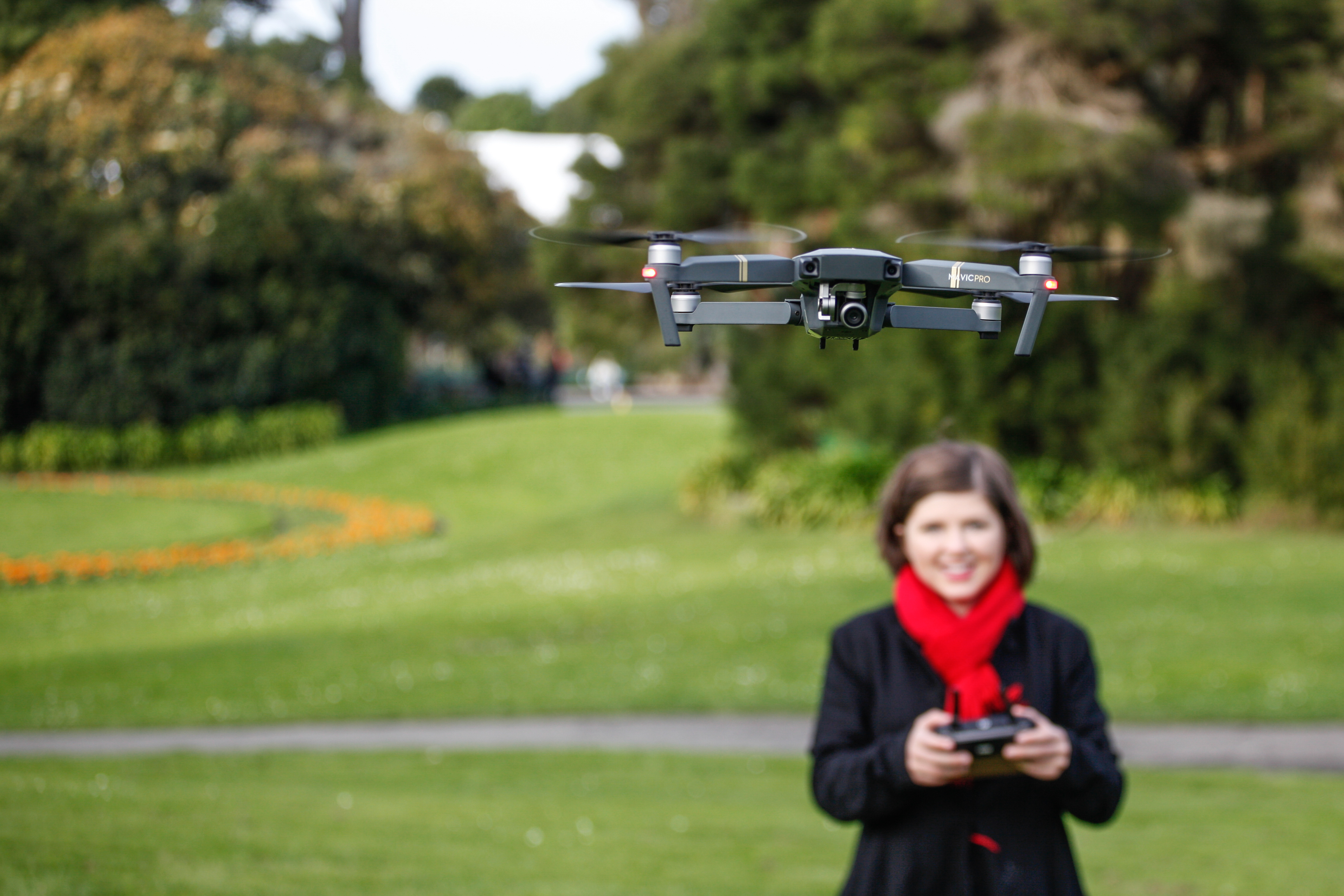 Will we see drones manufactured in the U.S.?