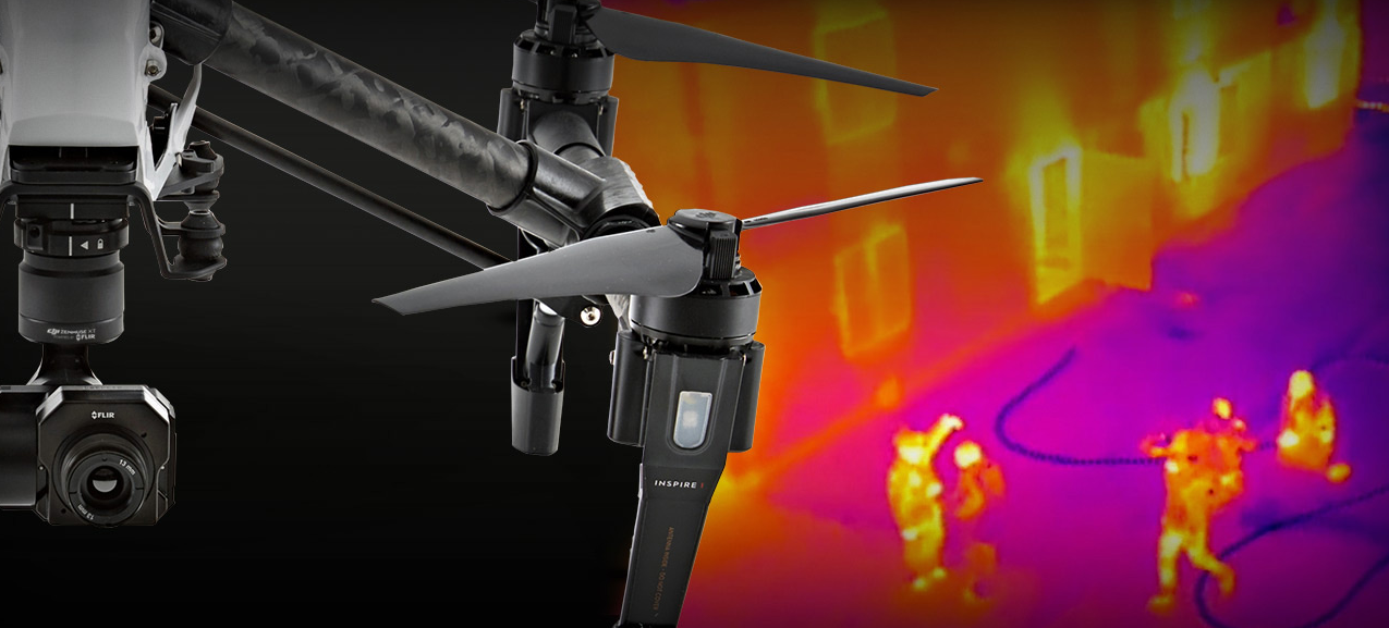 How to use a drone for aerial thermography
