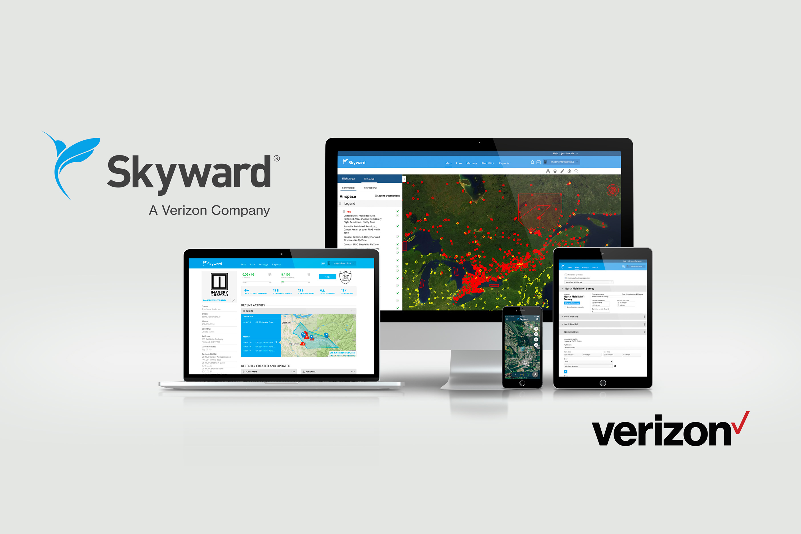 Verizon acquires drone operations management company Skyward for undisclosed sum