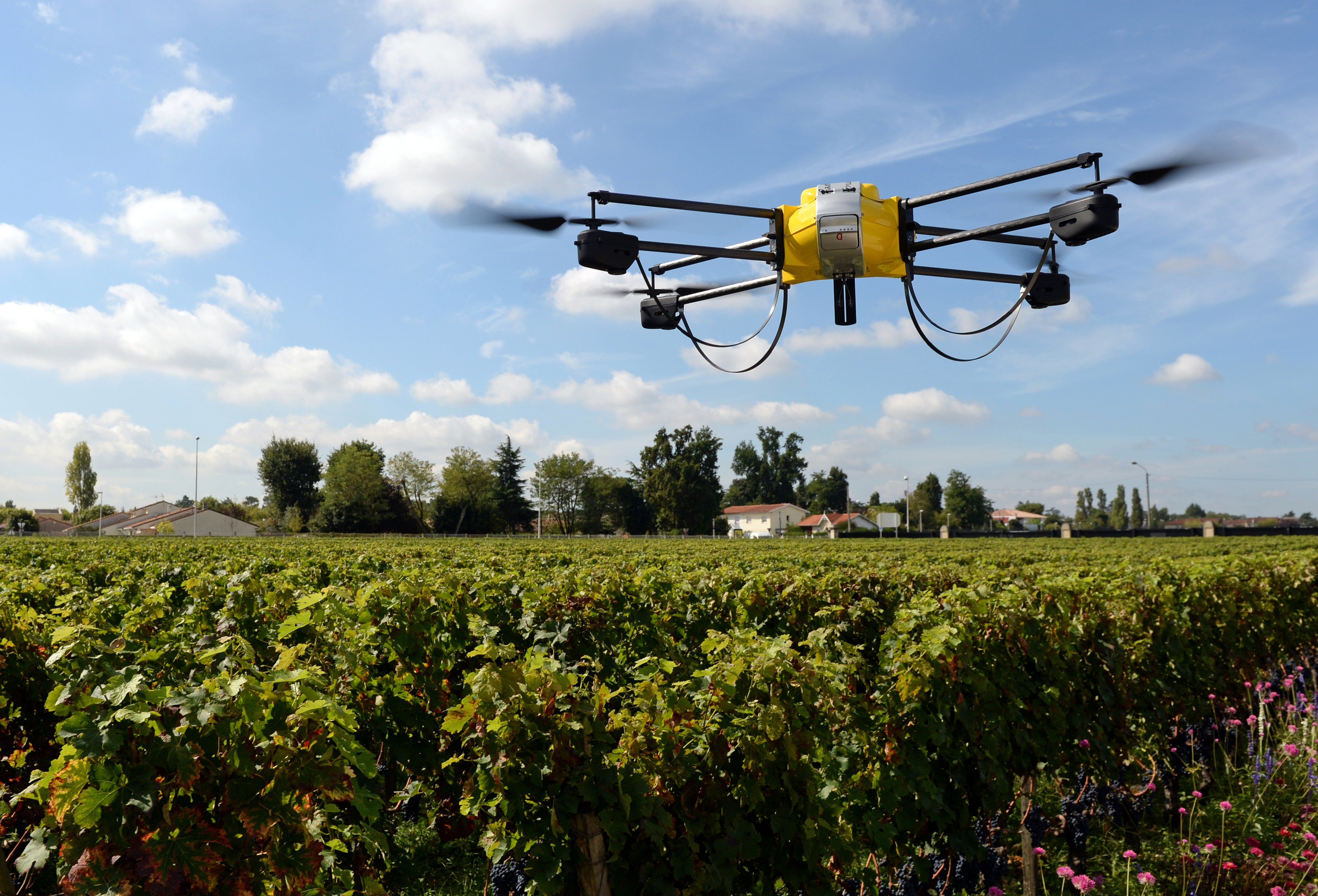 How to learn mapping and agriculture for drones