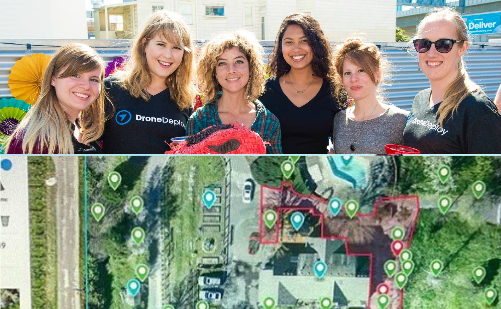 Drone Girl to fly-in to DroneDeploy's Girls in Tech meetup