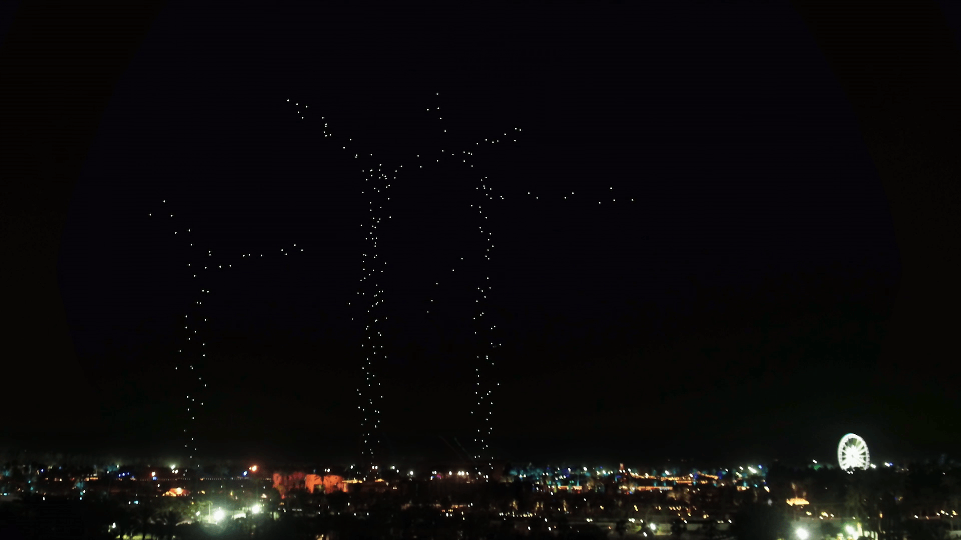Coachella drones take over the music festival with Intel's newest light show