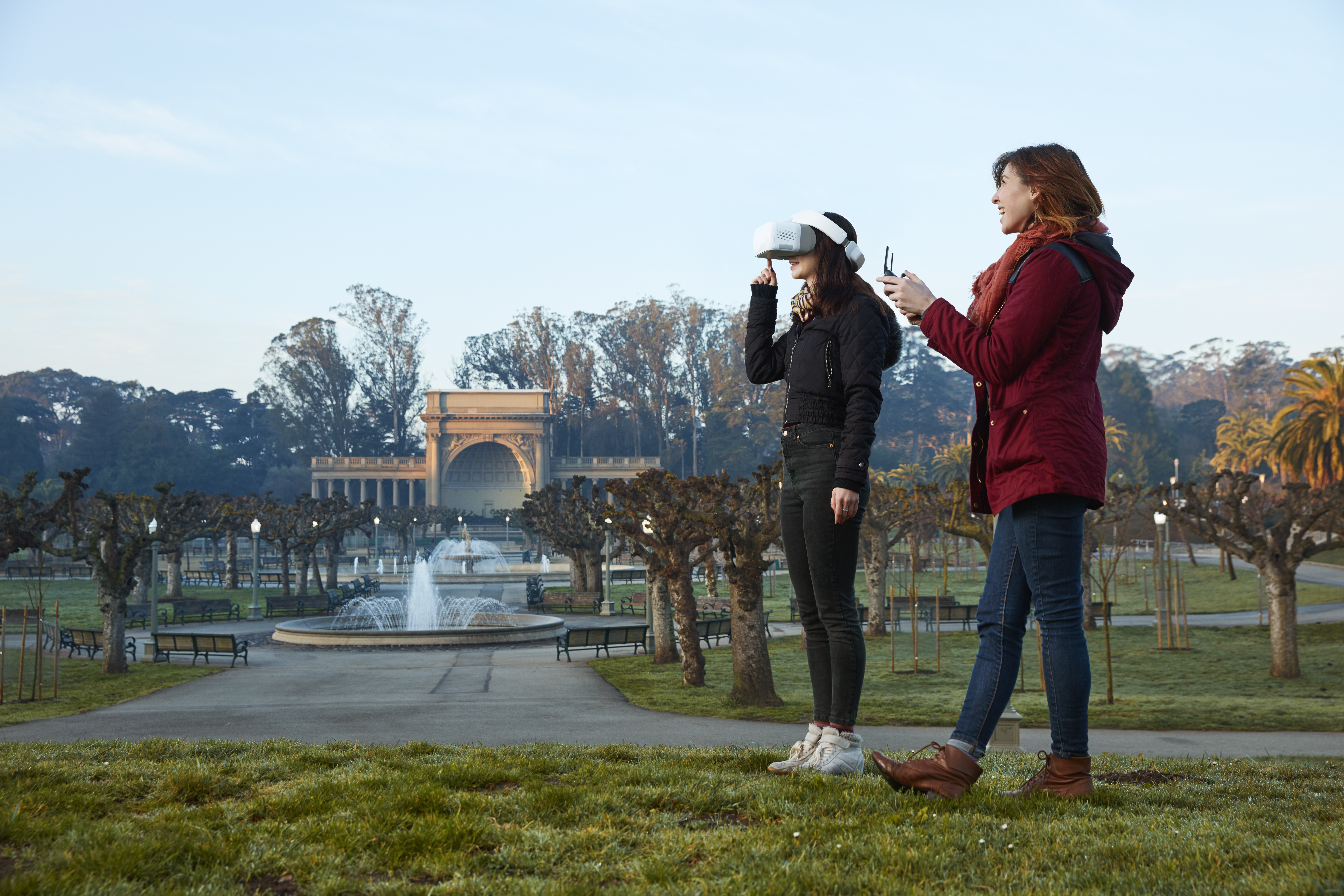 DJI Goggles bring FPV first person view to its Mavic, Phantom and Inspire drones