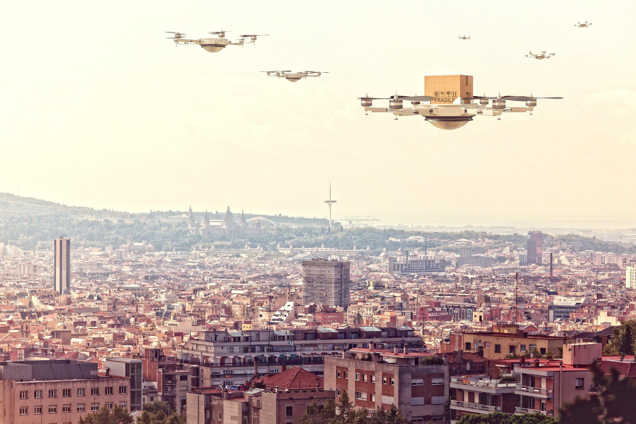 Drone delivery economics: are Amazon drones economically worth it?