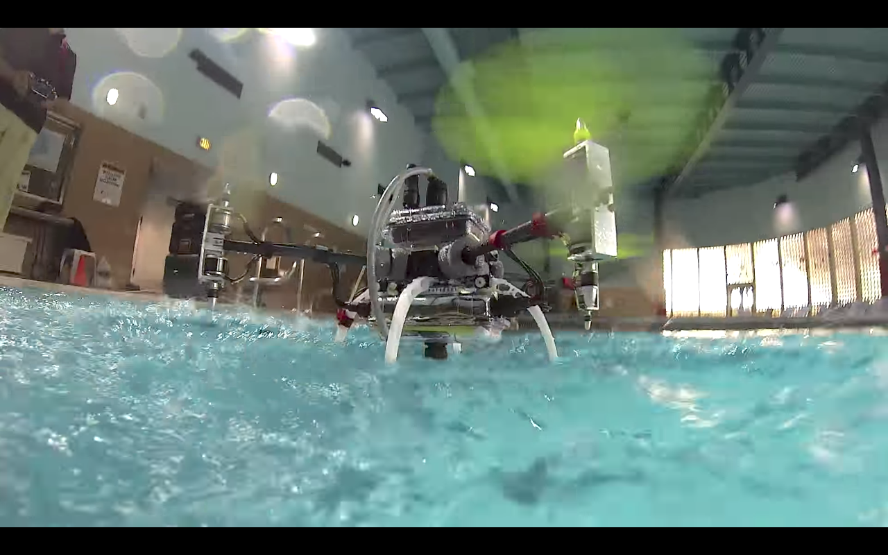 Finally, a drone that can swim AND fly (and it's doing bridge inspections)