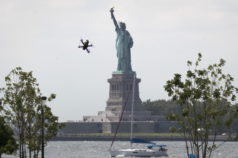 doi drone ban statue of liberty