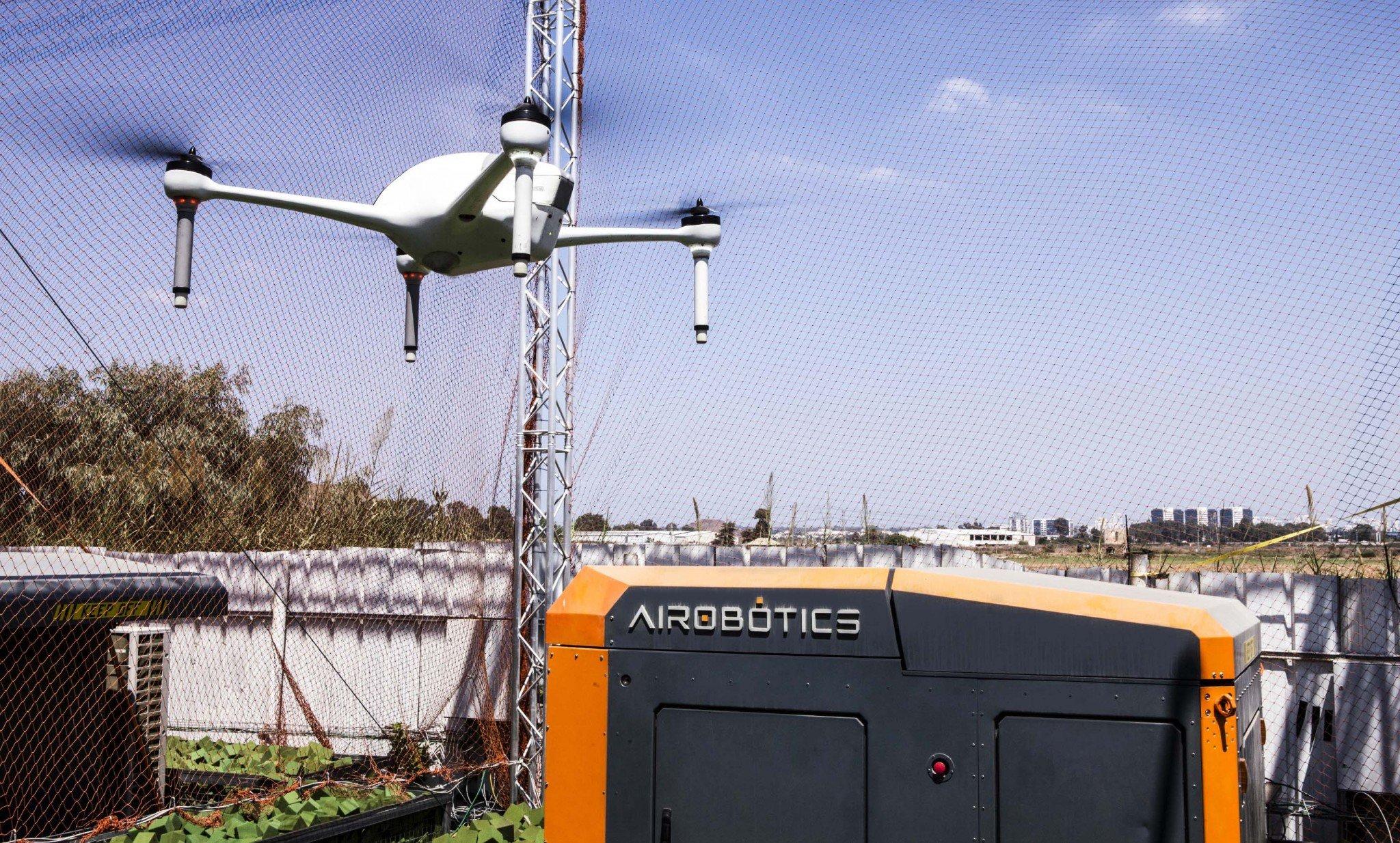 Israeli dronemaker Airobotics raises $32.5 million in funding