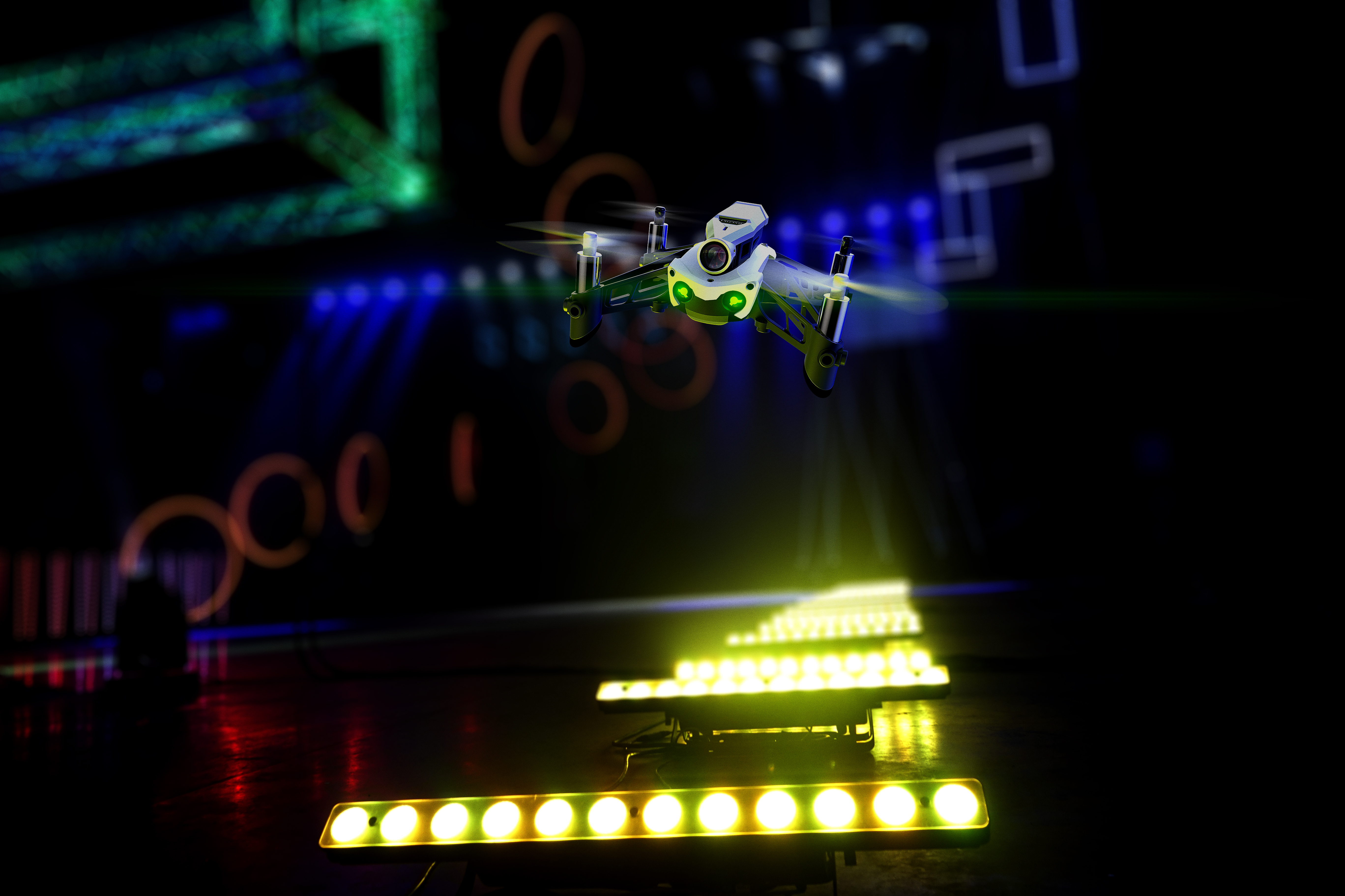Parrot Mambo FPV positions Parrot as first major manufacturer in drone racing