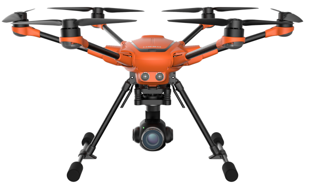 The Yuneec H520: Yuneec's first commercial drone is here