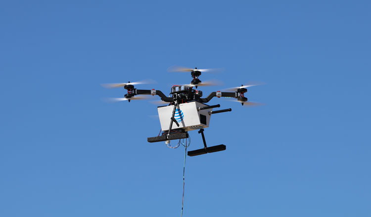 39% of cell sites are still out of service in Puerto Rico post-hurricane. AT&T's drones are fixing that.