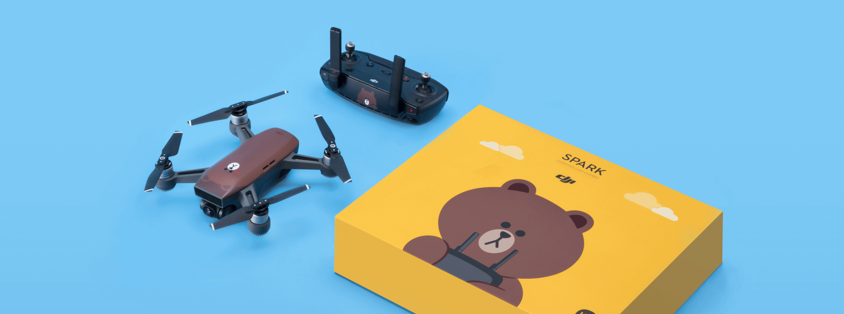 DJI Spark just got an adorable Line Friends drone makeover