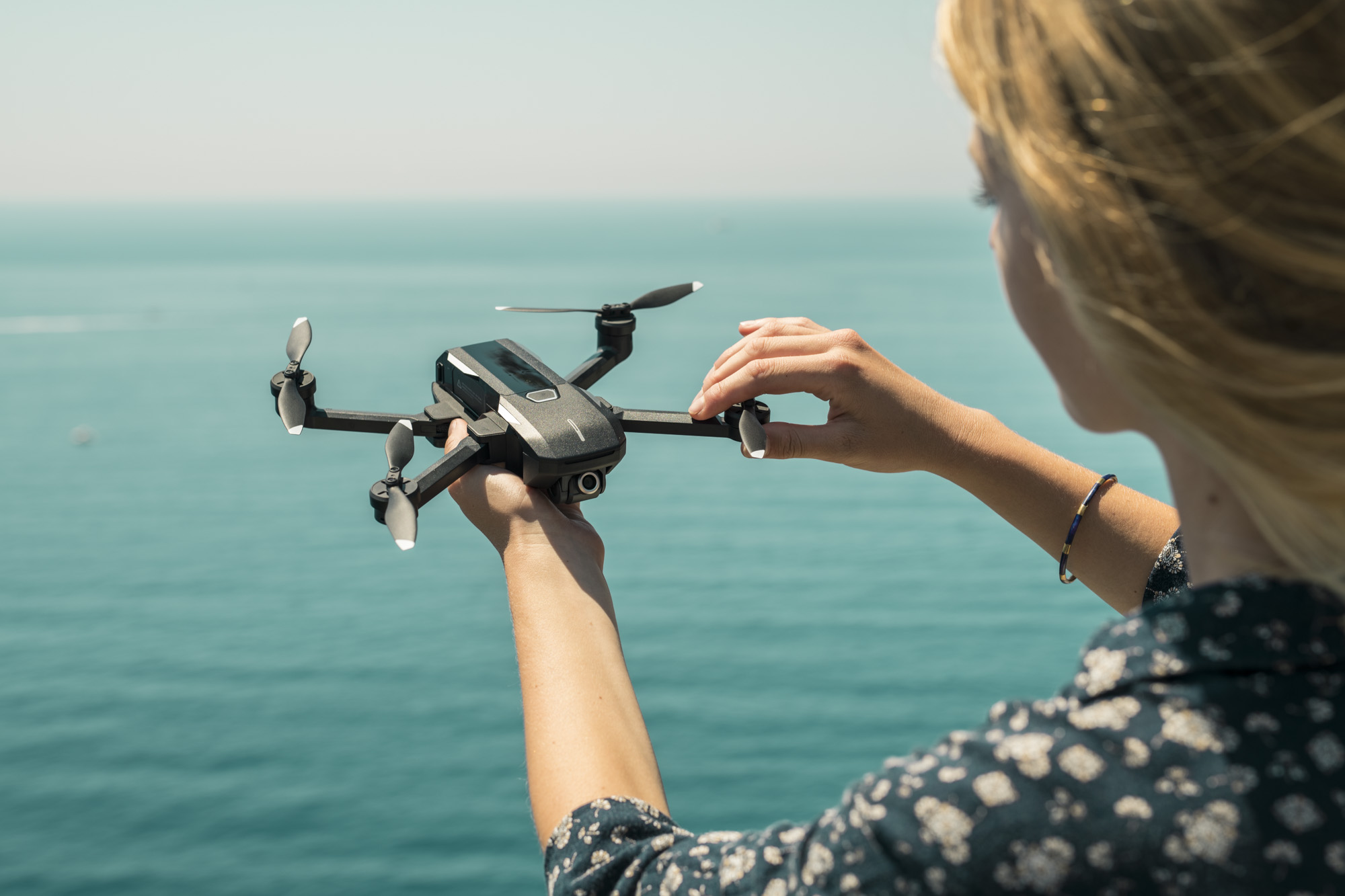 Yuneec's new Mantis Q drone may not have obstacle avoidance, but it does has voice control