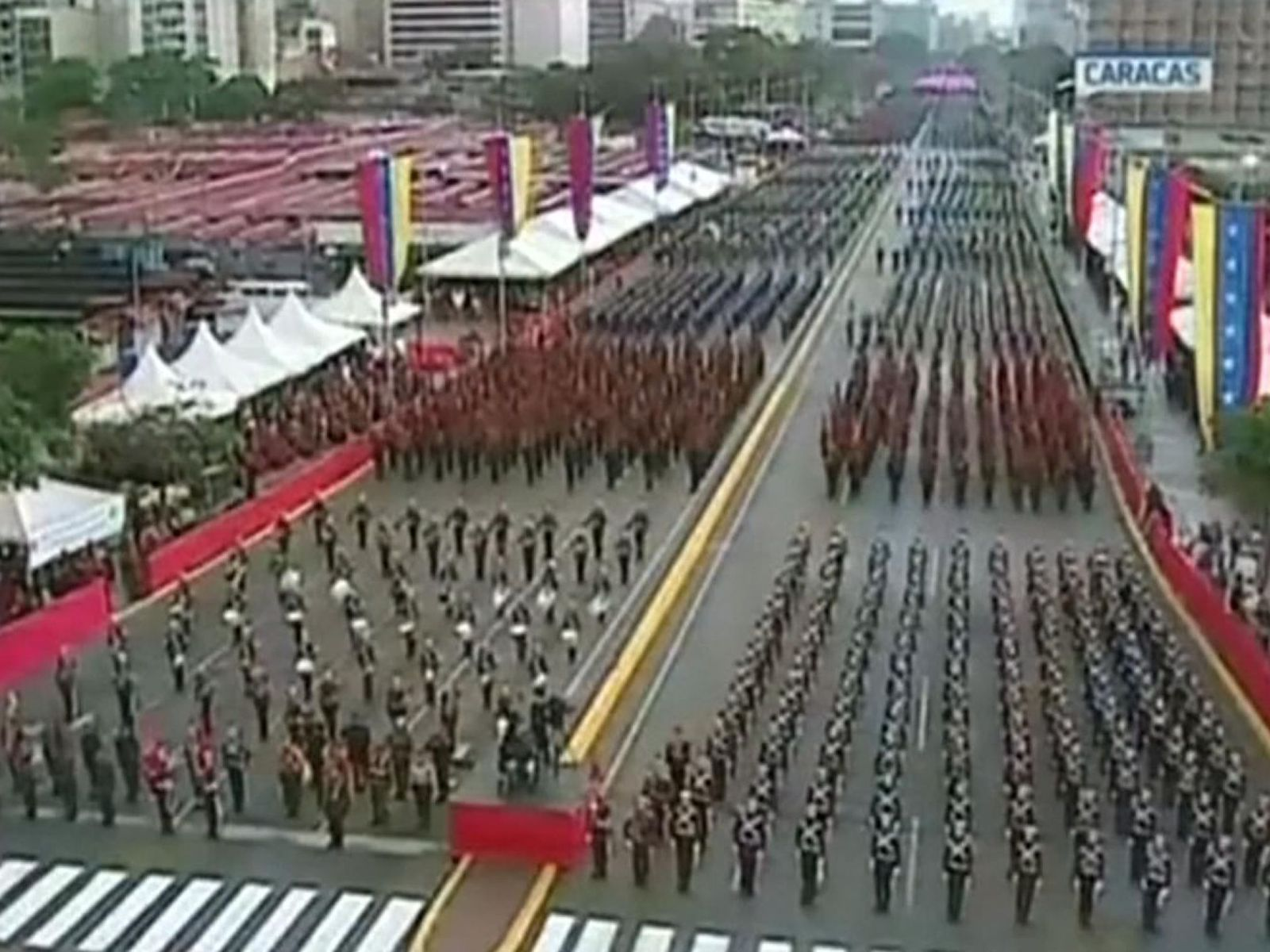 Drone attack targets Venezuelan President Nicolás Maduro in assassination attempt
